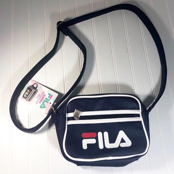 Fila Aubree Navy Messenger Bag w Adjustable Strap 9cef850eaf2d7